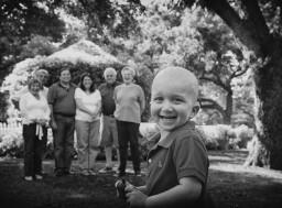Ryan Goldblatt and His Family